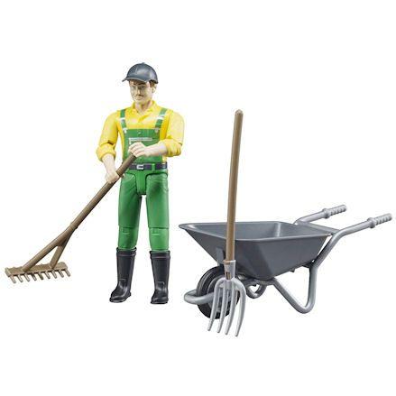 Bruder 62610 Farmer, raking