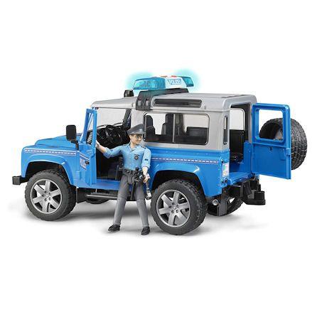 Bruder 02597 Land Rover Defender Police Dept.