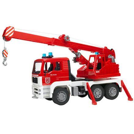 Bruder MAN Fire Engine Crane Truck