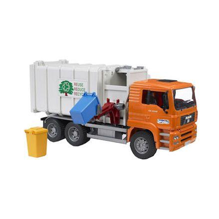 Bruder 02761: MAN Side Loading Garbage Truck