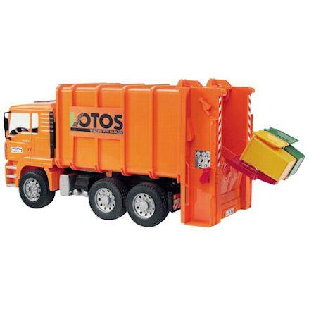 Bruder 02762: MAN TGA Rear Loading Garbage Truck