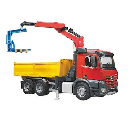 Bruder Mercedes Benz Arocs Crane Truck