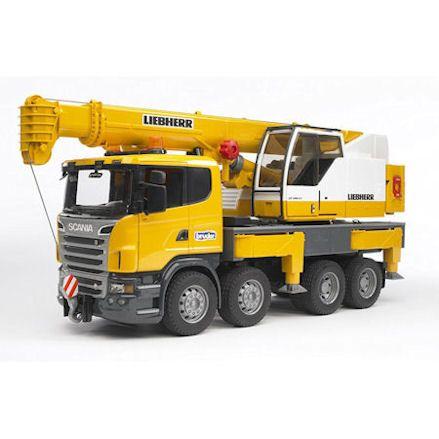 Bruder Scania R-Series Liebherr Crane Truck