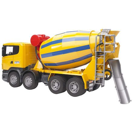 Cement mixer or static cement silo