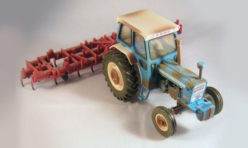 Custom Britains tractors