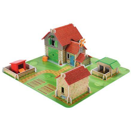 ELC Wooden Classic Farm Playset