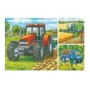 3 Farm Machinery Puzzles (49 pieces each)