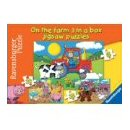 Ravensburger Puzzle - 0n the Farm - 3 Puzzles in a Box