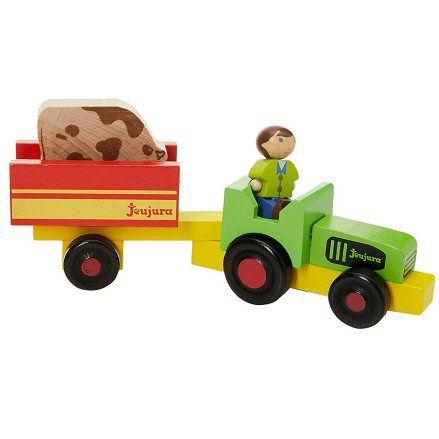 Jeujura 8081 Tractor, Trailer