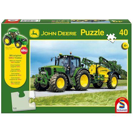 John Deere puzzle box
