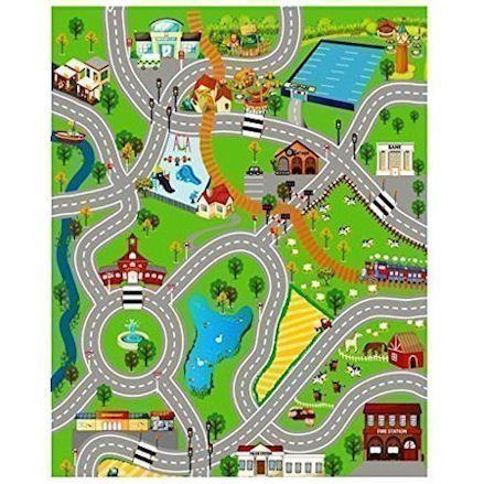 Kids Giant City & Farm Road Mat