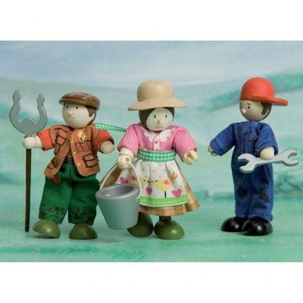 Le Toy Van BK904 Budkins Farmers, diorama