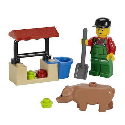 LEGO 7566 City Farmer, right side