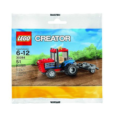 Lego Tractor with Plough