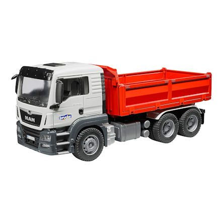 Lorry for taking away material