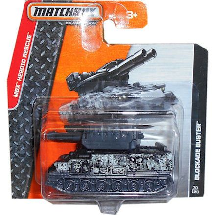 Matchbox Blockade Army Tank