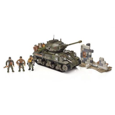 Mega Bloks Call of Duty Sherman Battle Tank