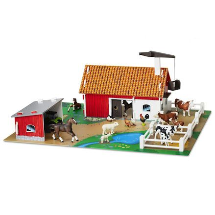 Micki: Farm with Play Mat