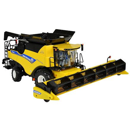 Britains New Holland combine harvester