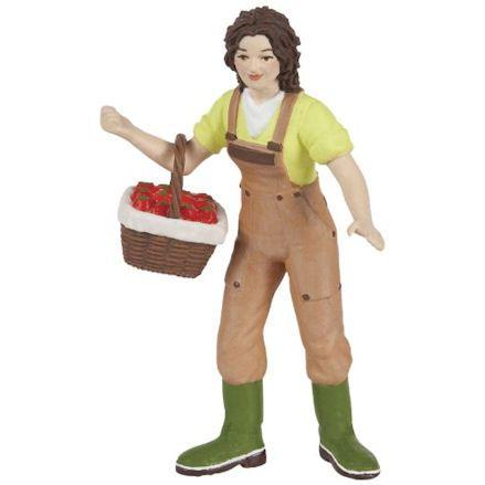 Papo 39219 Women Farmer with Basket