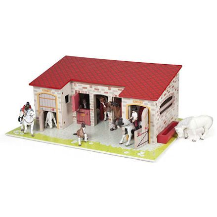 Papo The Stable Play Set