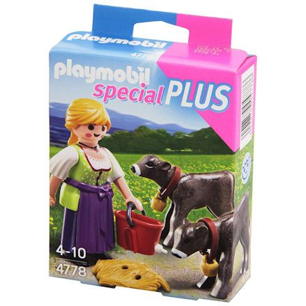 Playmobil 4778 Country Woman, right side