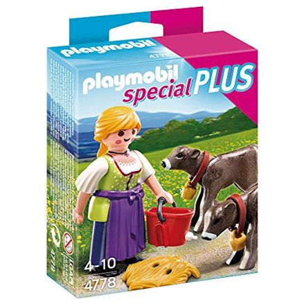 Playmobil 4778 Country Woman with Calves
