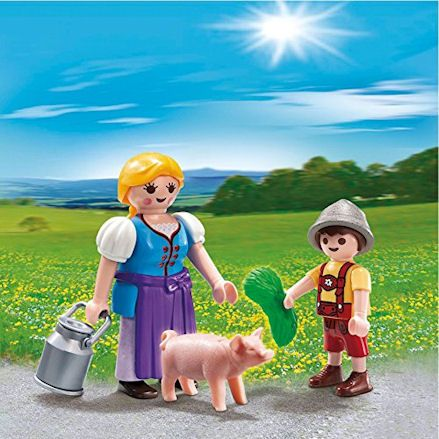 laymobil 5514 Country Farm Woman, diorama