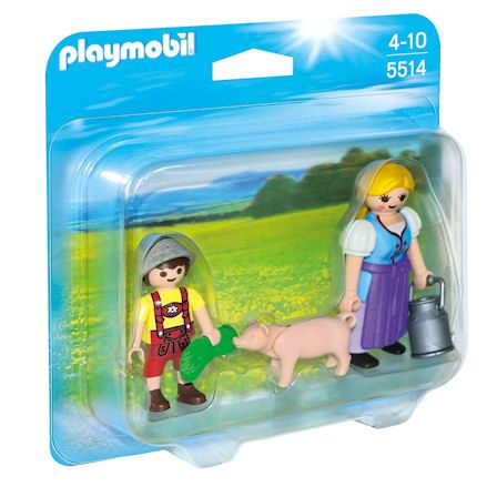 laymobil 5514 Country Farm Woman, left side