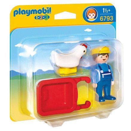 Playmobil 6793 Farmer, left side