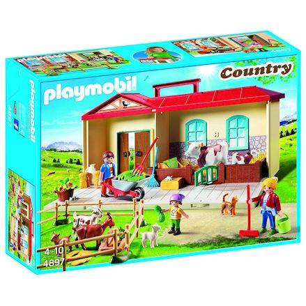 Playmobil 4897: Country Take Along Farm