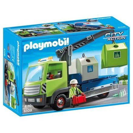 Playmobil 6109: Glass Sorting Truck