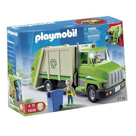 Playmobil 5938: Recycling Truck