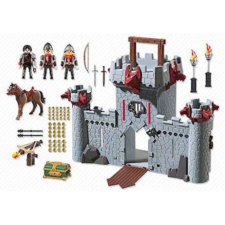 Playmobil Take Along Black Baron's Castle