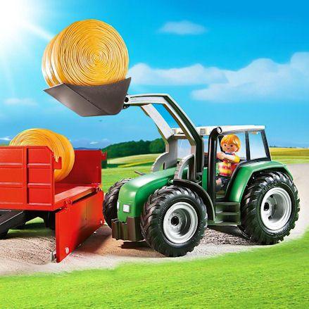 Playmobil Tractors