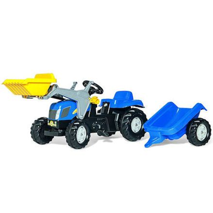Rolly: New Holland T7040 Tractor with Front Loader