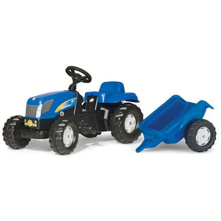 Rolly: New Holland T7040 Tractor with Trailer