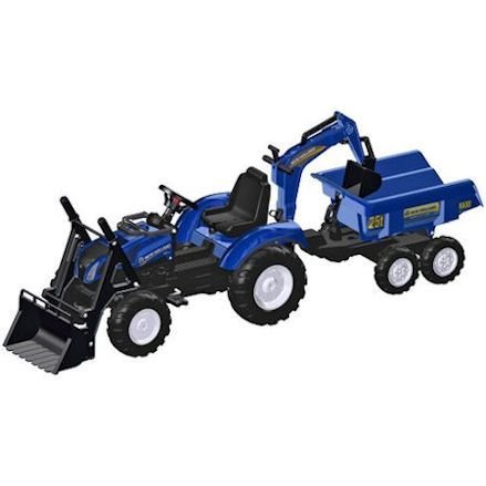 Rolly: New Holland T8 Tractor with Front Loader