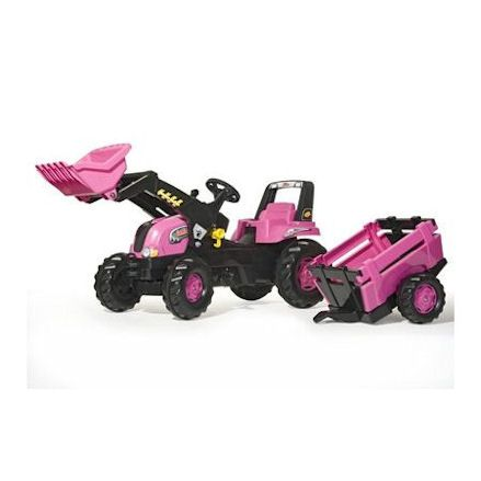 Rolly toys pink tractor