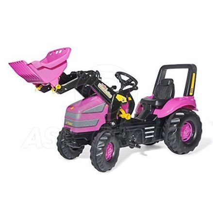 Rolly Pink X-Trac pedal tractor