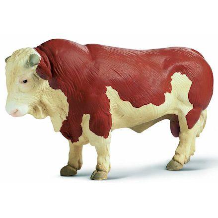 Schleich 13138 Fleckvieh Bull