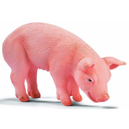 Schleich 13290 Piglet, Eating