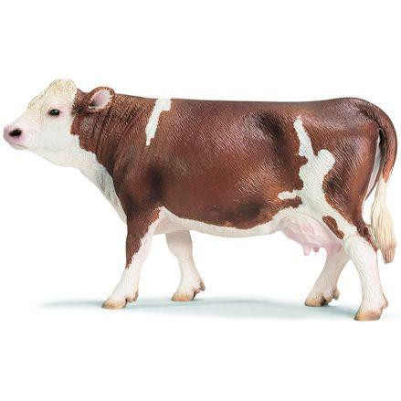 Schleich 13641 Simmental Cow