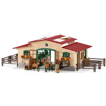 Schleich Stable with Horses