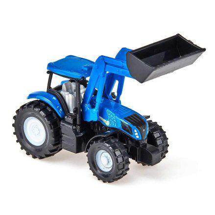 Siku 1355 New Holland Tractor, loader