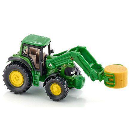 Siku 1379 John Deere Tractor, grabber attachment
