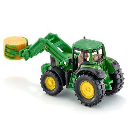 Siku 1379 John Deere Tractor, left side