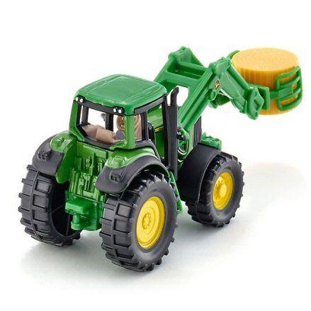 Siku 1379 John Deere Tractor, rear view