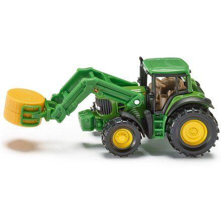 Siku 1379 John Deere Tractor, Bale Grabber