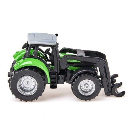 Siku 1380 Deutz Fahr Agrotron TTV Forestry Tractor, right side view